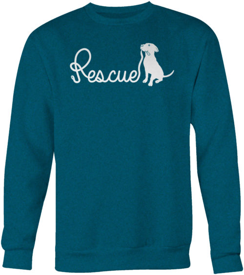 Rescue Leash Crew Neck Sweatshirt