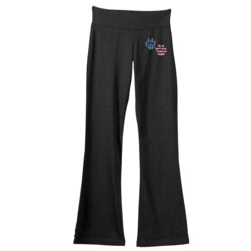 Flag Paws USA Yoga Pants