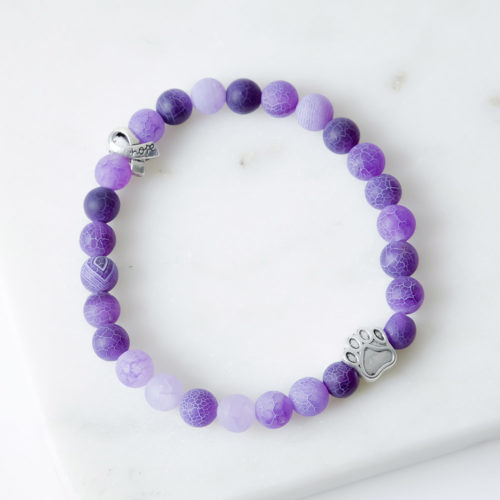 Pet Cancer Memorial Bracelet: Funds Pet Cancer Research In Loving Memory of Your Dog