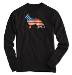 Vintage German Shepherd USA Long Sleeve
