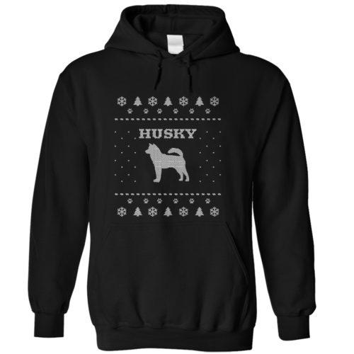 Christmas Husky Hoodie