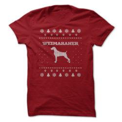Christmas Weimeraner