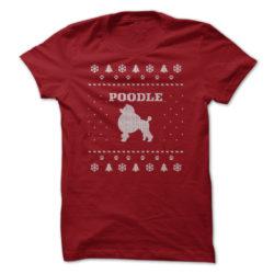 Christmas Poodle