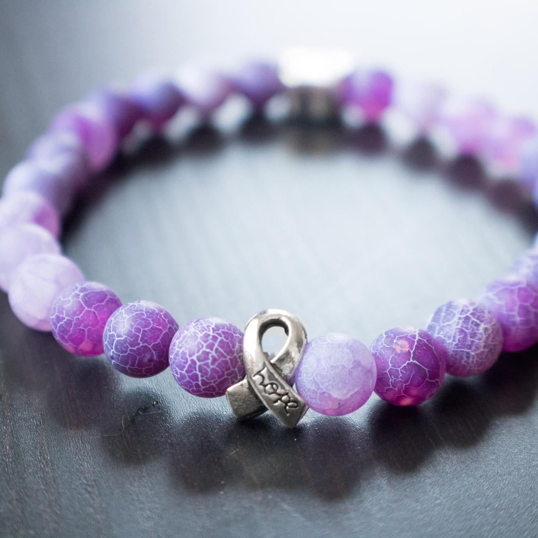 Pet Cancer Memorial Bracelet