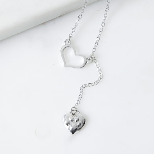 Always Close To My Heart Paw Necklace