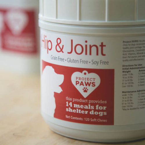 Hypoallergenic Hip & Joint Soft Chews, Grain Free, Gluten Free, & Soy Free