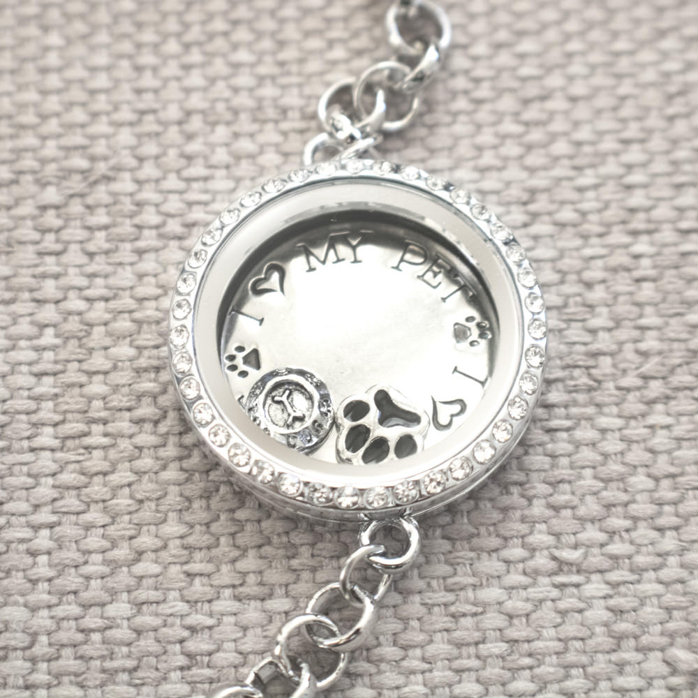 Furever Celebration Locket Bracelet Donates 5 Meals To Shelter Dogs
