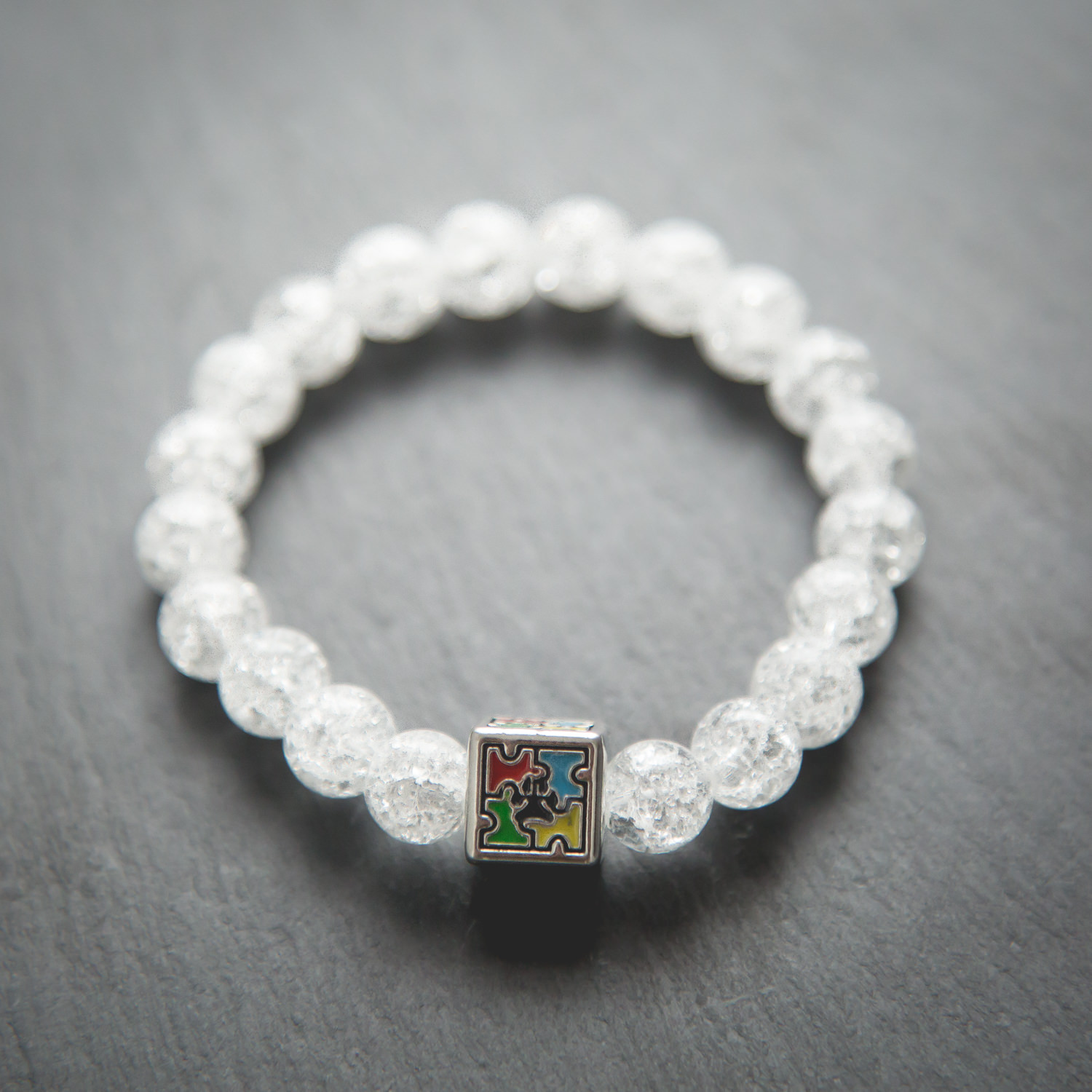 autism awareness bracelet and blanket shine product ride braclet