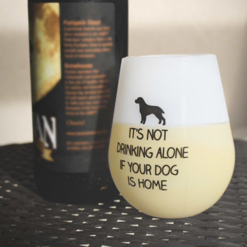 Shatterproof It's Not Drinking Alone Silicone Wine Cups (Set of 2)