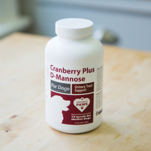Project Paws® Urinary Support with Cranberry Plus D-Mannose