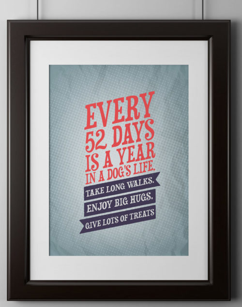 Every 52 Days Poster