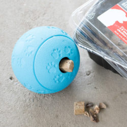 Brain Ball by Project Play ™ - Treat Dispensing Teaser & Thinker Toy