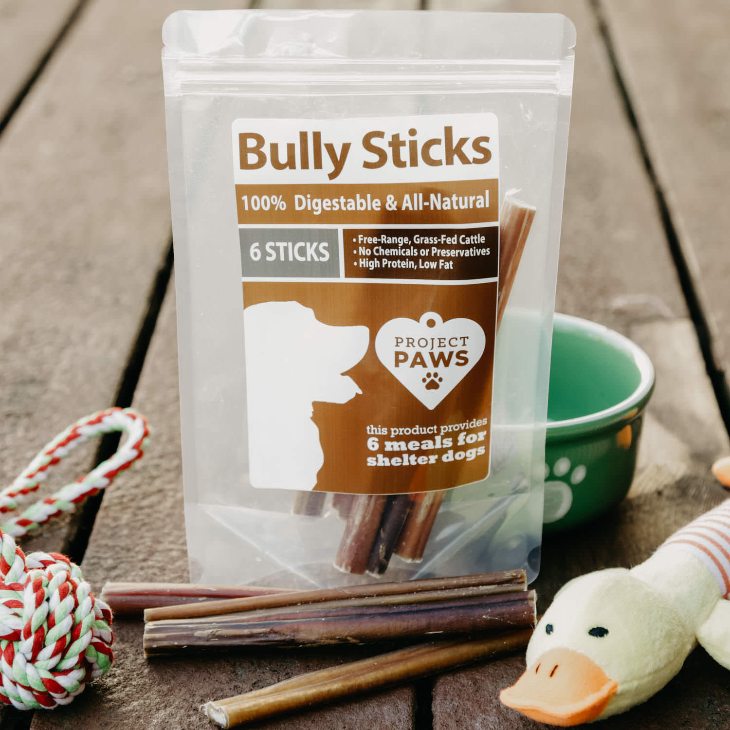 all natural free range grass fed bully sticks every stick gives a meal. Black Bedroom Furniture Sets. Home Design Ideas