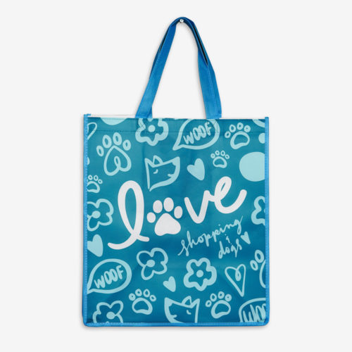Love Shopping & Dogs Grocery Bag