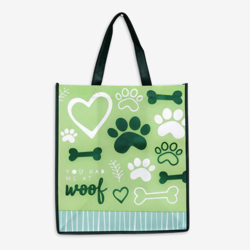 You Had Me At Woof Grocery Bag