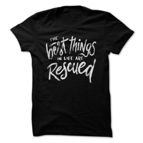 Best Things Rescued_black