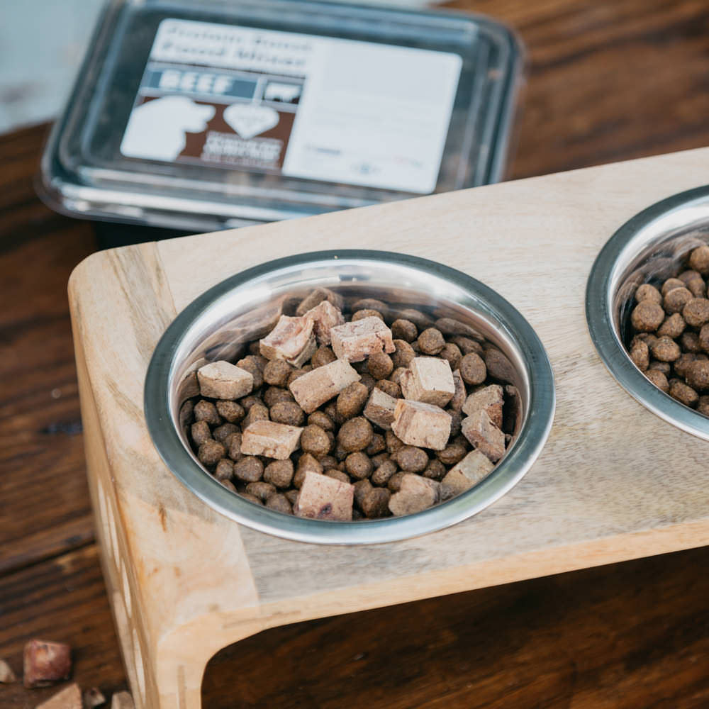Project Paws™ Raw, Single Ingredient Protein Boost Food Mixers