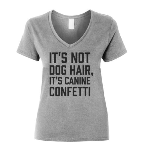 Canine Confetti V-Neck