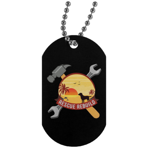 Rescue Rebuild Dog Tag