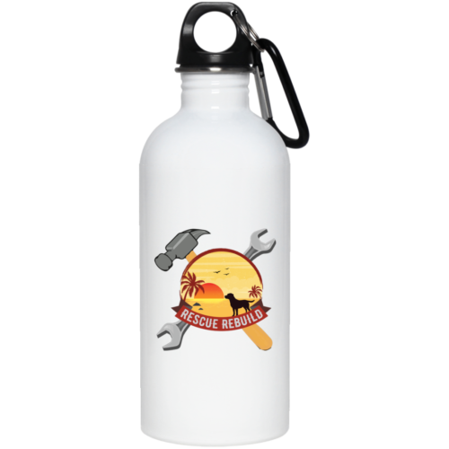 Rescue Rebuild Stainless Steel Water Bottle