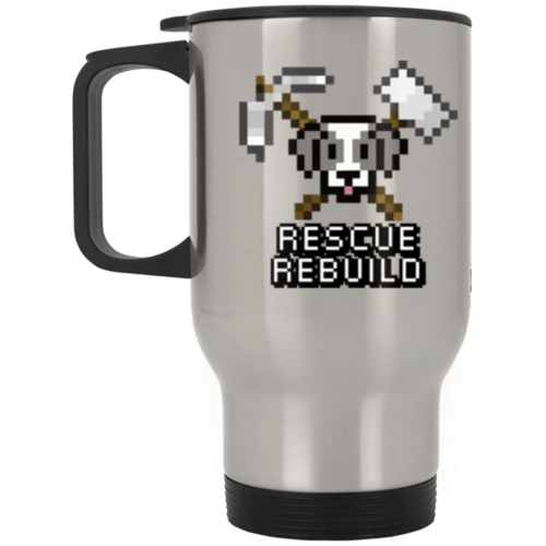 Rescue Rebuild 8 Bit Stainless Steel Travel Mug