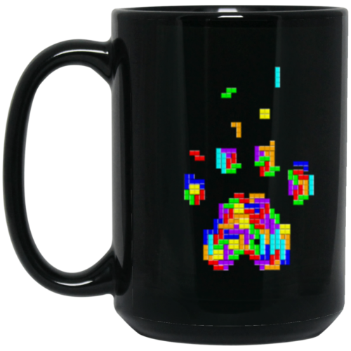 Rescue Rebuild Gamer Paw 15 oz. Mug