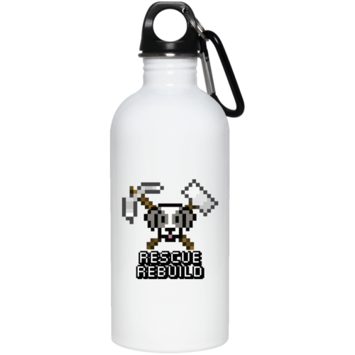 Rescue Rebuild 8 Bit Stainless Steel Water Bottle