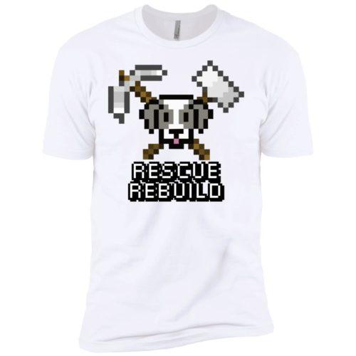 Rescue Rebuild 8 Bit Premium T-Shirt