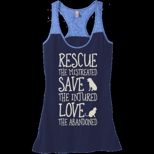 Rescue Them Varsity Tank
