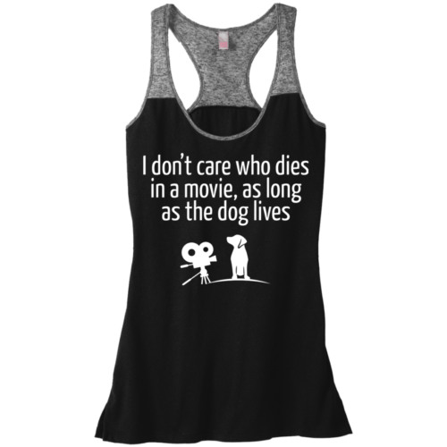 The Dog Lives Varsity Tank