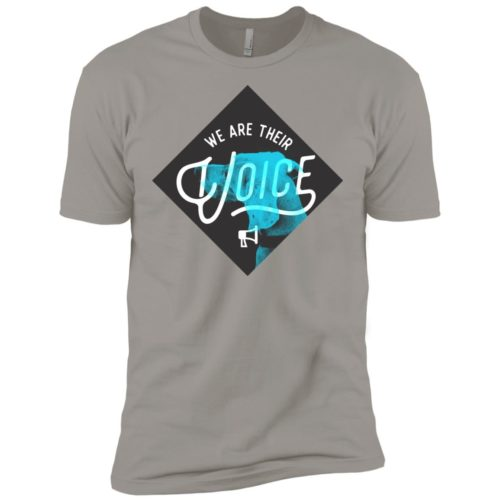 We Are Their Voice Series 4 Premium Tee