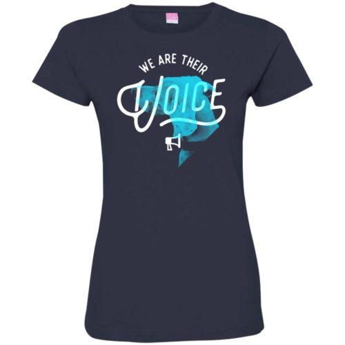 We Are Their Voice Series 3 Ladies' Premium T-Shirt
