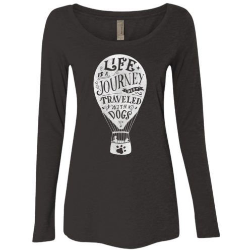 Life Fitted Scoop Neck Long Sleeve