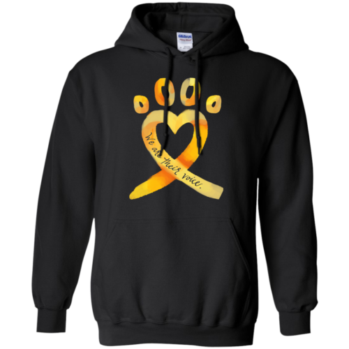 Animal Cruelty Ribbon Pullover Hoodie
