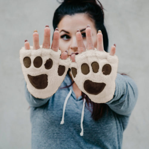Giving Paws Warm & Fuzzy Gloves