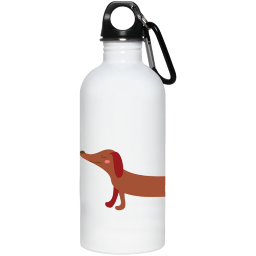 Dachshund Stretch Stainless Steel Water Bottle