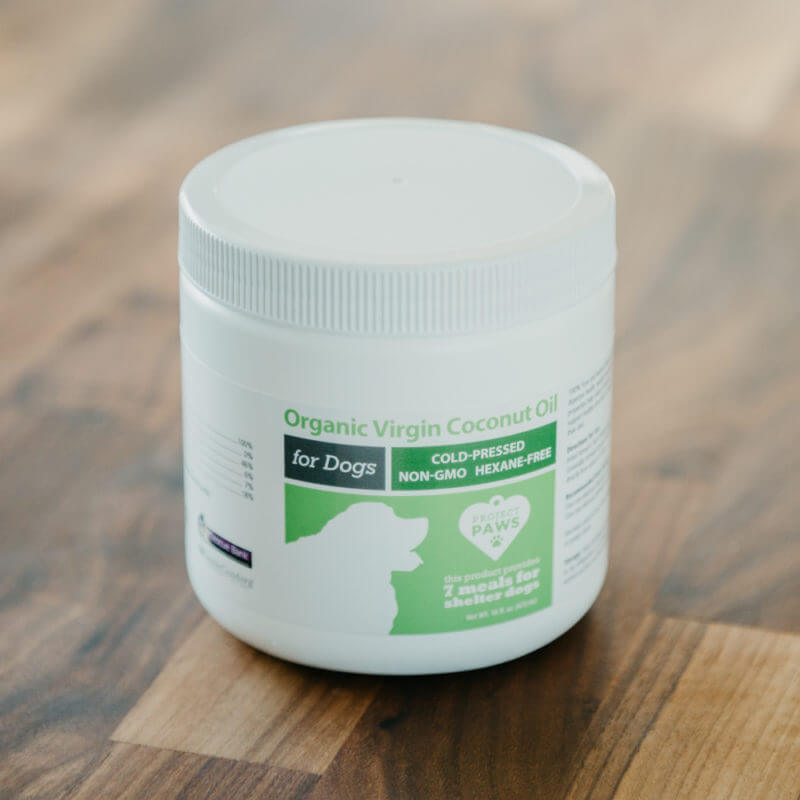 Project Paws® Pure Organic Virgin Coconut Oil