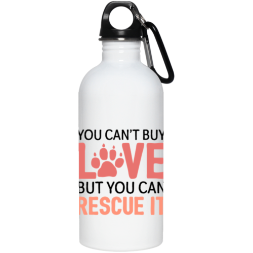 Rescue Love Stainless Steel Water Bottle