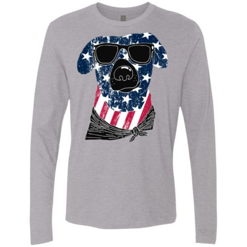 American Dog Premium Long Sleeve Tee