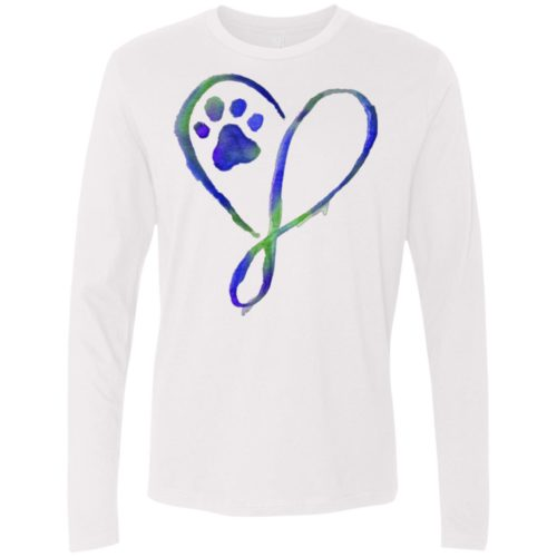 Elegant Heart Premium Long Sleeve Tee