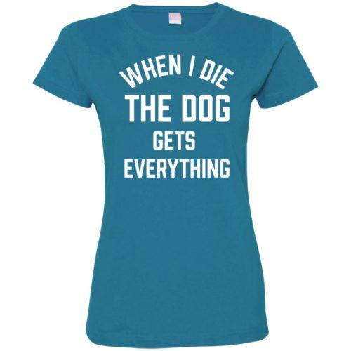 When I Die Ladies' Premium T-Shirt