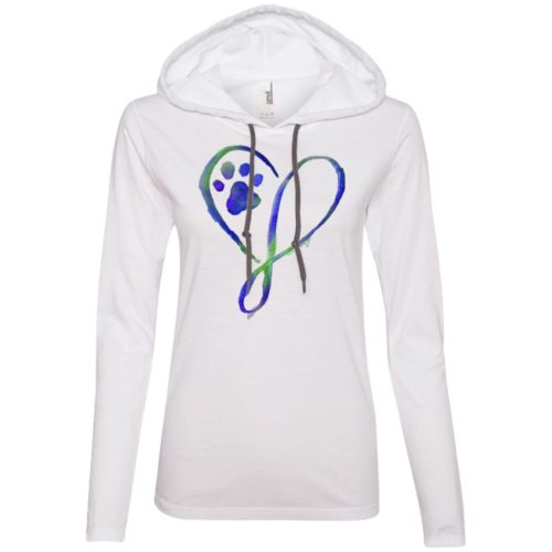 Elegant Heart Fitted T-Shirt Hoodie