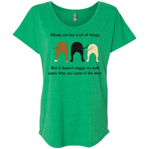 Wiggle Butt Ladies' Slouchy T-Shirt