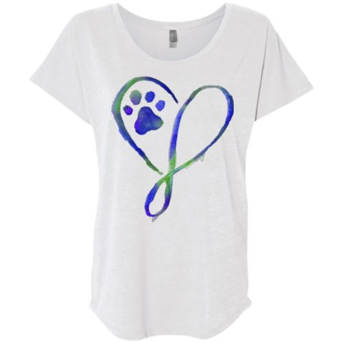 Elegant Heart Ladies' Slouchy T-Shirt