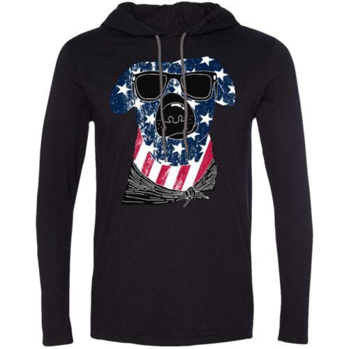 American Dog T-Shirt Hoodie