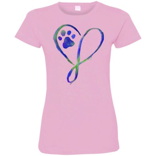 Elegant Heart Fitted Tee