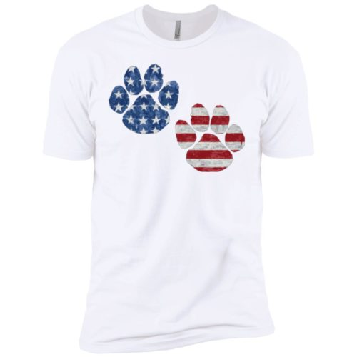 Flag Paws USA Premium Tee