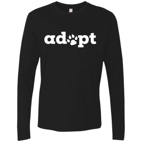 Adopt Paw Premium Long Sleeve Shirt