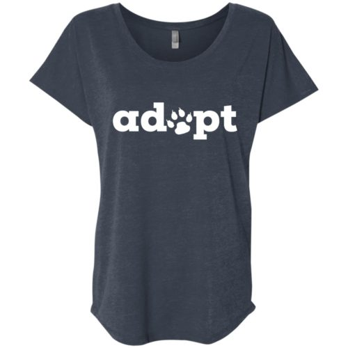 Adopt Paw Slouchy Tee