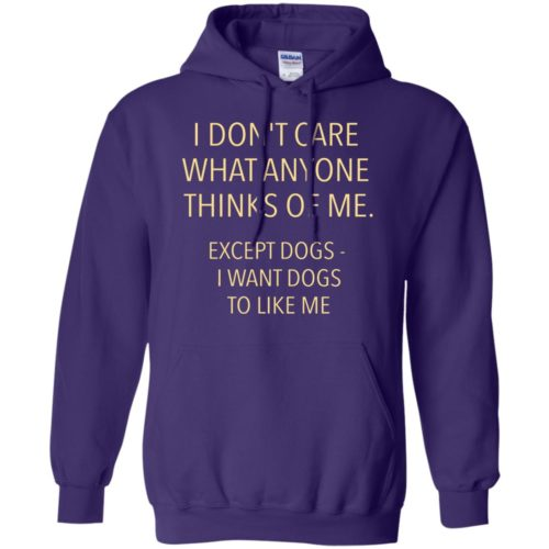Except Dogs Pullover Hoodie